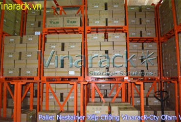 Pallet Nestainer xếp chồng tiện ích cao